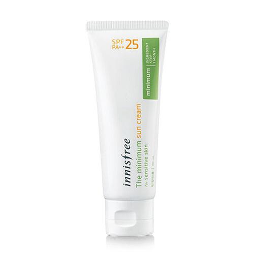 [Innisfree] The Minimum Sun Cream SPF25 PA++ 40ml