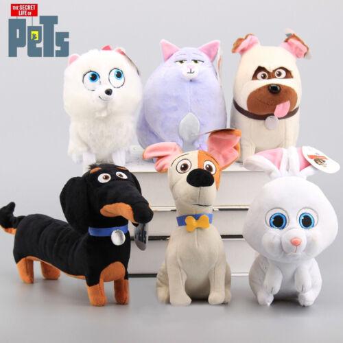 The Secret Life of Pets Kids Doll Plush - Max, Mel, Buddy, Gidget, Chloe & Snowball *Highly-Rated*
