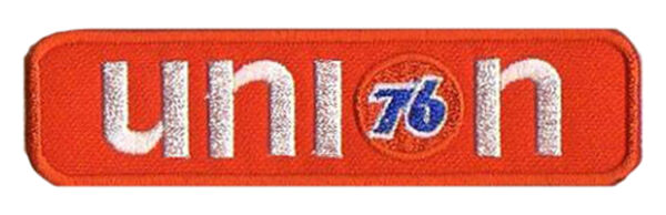 Patch écusson Patche 76 Union Racing Gasoline Thermocollant Elegante Vorm
