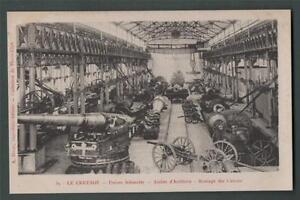 le-Creusot-Usines-Schneider-Atelier-Cannons-Artillery-vintage-postcard-Da-2