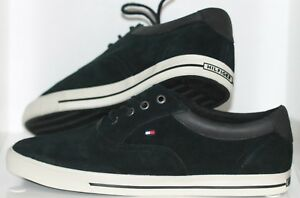 Trainers-Sporty-Shoes-Tommy-Hilfiger-Black-Size-43-NEW