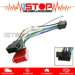 iso wiring harness for sony wx 900bt wx900bt wx 920bt wx920bt ebay rh ebay com au Wire Harness Assembly Boards Aircraft Wire Harness