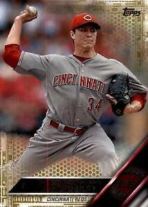 2016-Topps-Gold-222-Homer-Bailey-Reds-NM-MT-2016