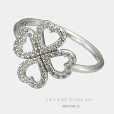 8daed6e50 item 7 Authentic Pandora Sterling Silver Petals of Love CZ Ring Size (9)  190978CZ-60 -Authentic Pandora Sterling Silver Petals of Love CZ Ring Size  (9) ...