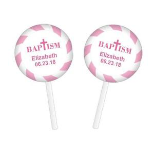48-Personalized-Baptism-Christening-Lollipop-Round-Stickers-Labels-Pink-1-2-034