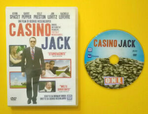 DVD-Film-Ita-Commedia-CASINO-JACK-kevin-spacey-ex-nolo-no-vhs-lp-cd-mc-D4