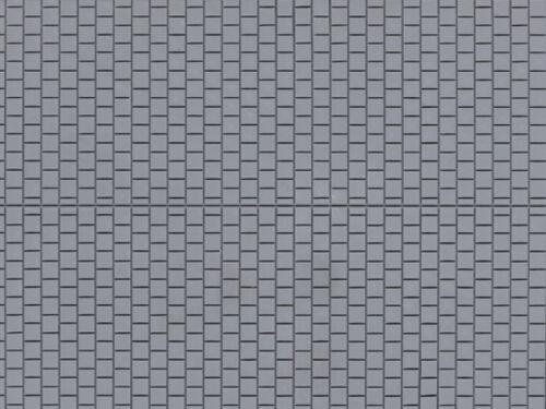 1 Dekorplatte Fußsteig grau NEU H0//TT Auhagen 52423