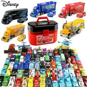 Disney Pixar Cars Lot Lightning McQueen 1:55 Diecast Model Car Toys Gift