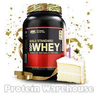 Optimum Nutrition Gold Standard 100 % Whey 908g Birthday Cake Flavour