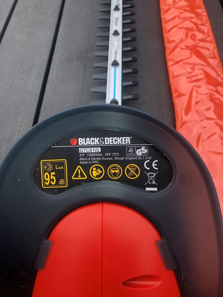 Hækklipper, Black&Decker