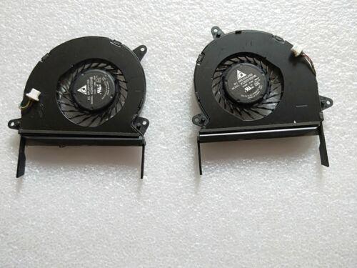 new For ASUS ZENBOOK U500 UX51VZ U51VZ R+L CPU FAN KDB0705HB-CE54 KDB0705HB-CE55