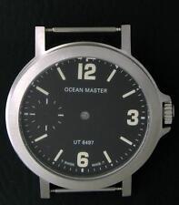 Ocean Master 42 mm Ollech & Wajs Swiss made case & dial Unitas 6497  NOS