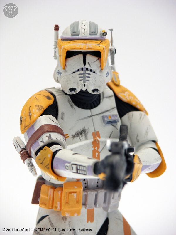 STAR WARS Figurine Figurine Figurine Cody Commander Statuette Limited edition Collectible c33017
