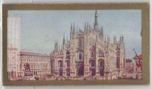 Milan Italy Cathedral Lombary Italy Catholic Church 90+ Y/O Ad Trade Card