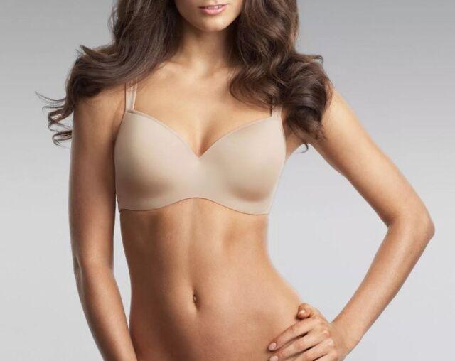 6e7a858f0d Le Mystere Dream Tisha Tshirt Bra Nude 9955 - New Size 14F   36F US RRP