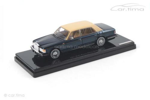 TSM-Model 1:43 TSM124371 Rolls-Royce Silver Spur II 1991 dunkelblau