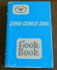 SLOVAK CATHOLIC SOKOL Cookbook - PASSAIC, NEW JERSEY Vintage (1976) H/C D/J