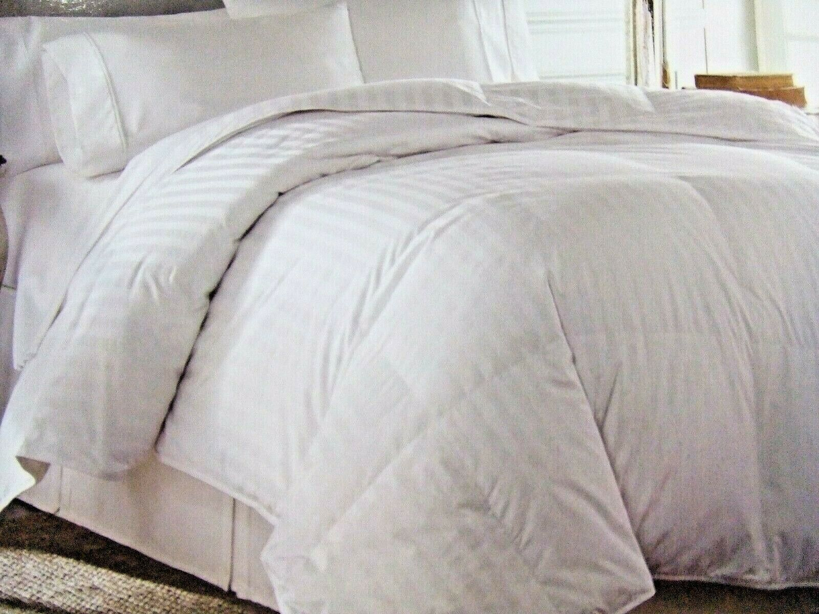 King Comforter European Goose Down 650 Fill Power Usa By Downlite 500 Tc For Sale Online