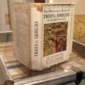Observers Book Of Trees 1947 - <span itemprop=availableAtOrFrom>Keighley, United Kingdom</span> - Observers Book Of Trees 1947 - Keighley, United Kingdom