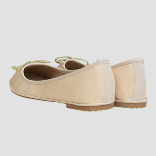 Womens Flat Dolly Ballerina Work Comfy Pumps Ladies School Ballet Shoes Size 3-8