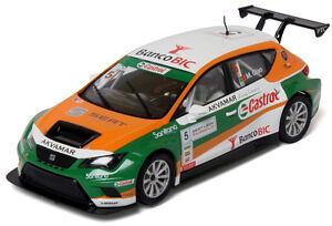 Scalextric-Seat-Leon-GT-A10205-SCX-1-32-Compatible-Slot-Car