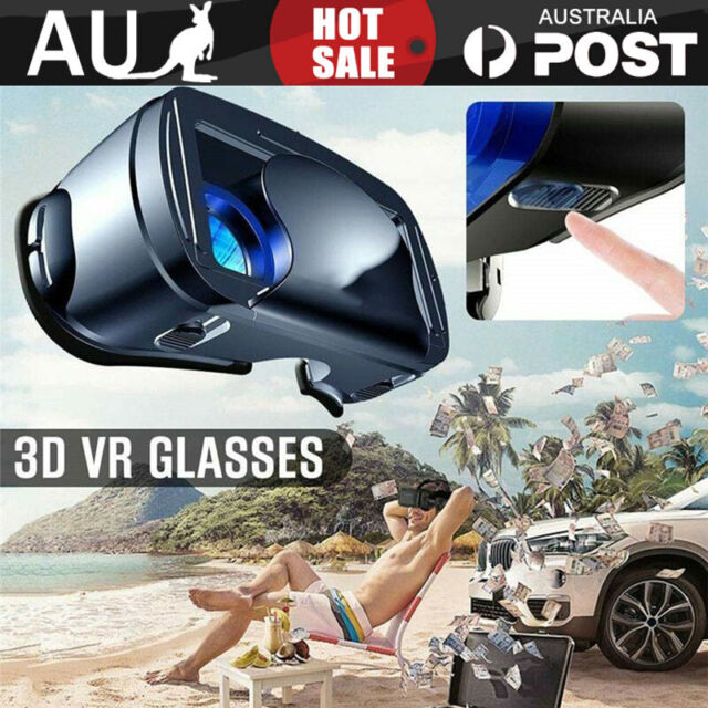 VRG Pro 3D VR Glasses Virtual Reality Full Screen Visual Wide-Angle Smartphone