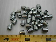 Raf 3046 A 440 B 1 Brass 14 Round Swage Standoff Spacer 4 40 Lot Of 25 709