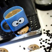 Cookie Monster MUG BISCUIT POCKET Holder Coffee Tea Cup Funny Gift Valentine's