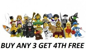 LEGO-MINIFIGURES-SERIES-2-8684-RARE-PICK-YOUR-OWN-BUY-3-GET-4TH-FREE