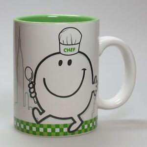 Art de la Table Monsieur et Madame Mug,  Happy Cooking : Vert