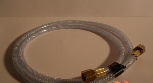 2xR1//4 Argon,CO2 Gasschlauch für Schutzgas,WIG Schweißanlagen 6X3mm mit Anschl