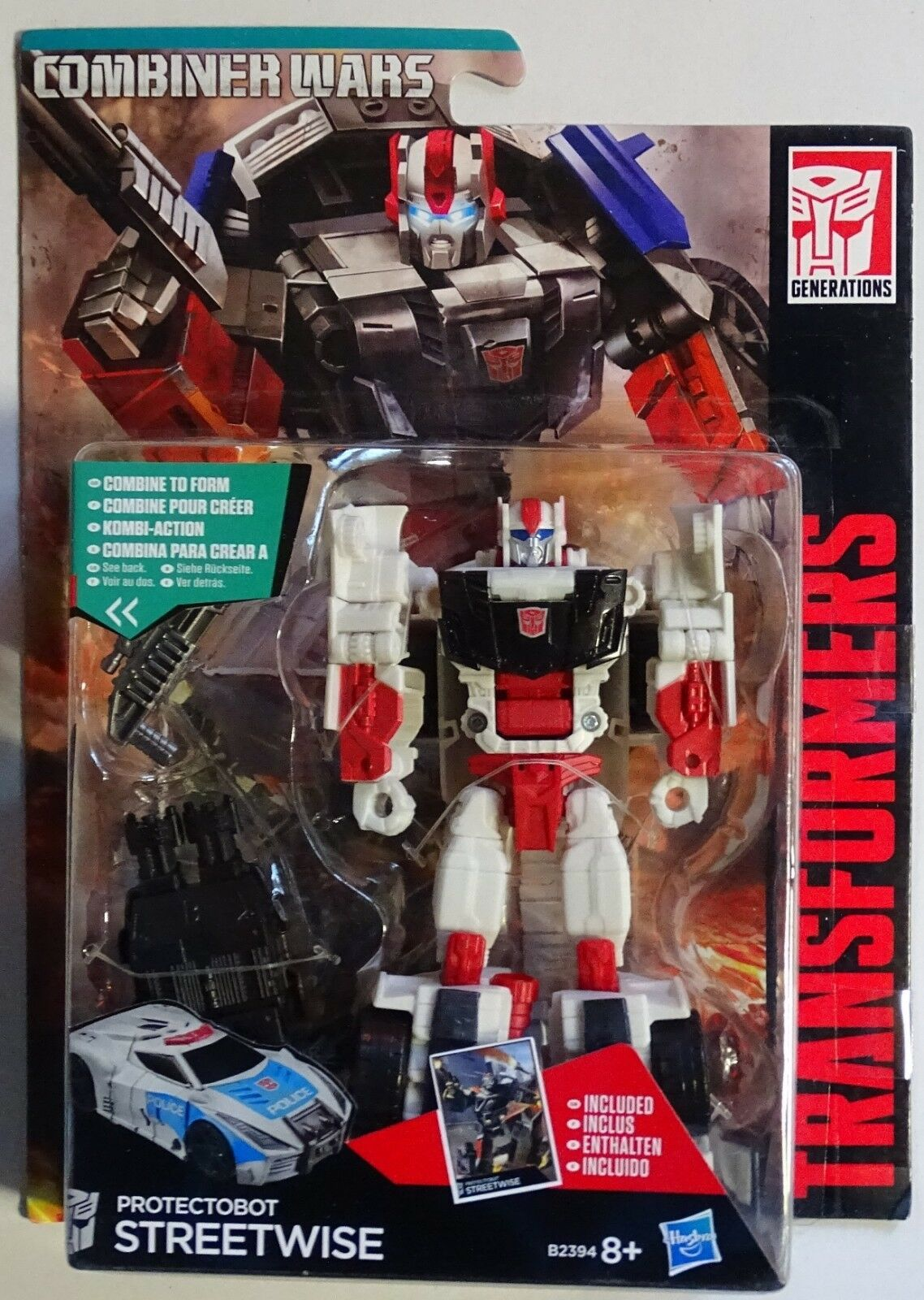 HASBRO® B2394 Transformers Generations Deluxe Deluxe Deluxe Protectobot Streetwise 1693a2
