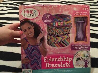 Mine 2 Design Friendship Bracelets Ages 6 Nib Ebay