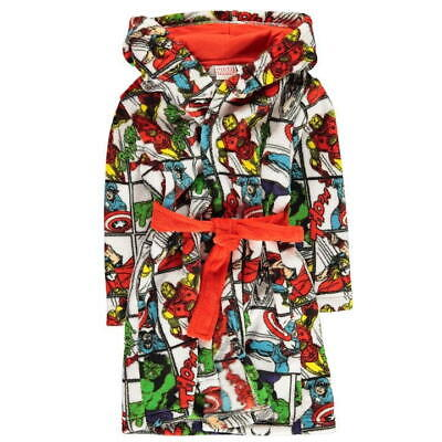 MARVEL:DRESSING GOWN//ROBE,GORGEOUS,,4//5,5//6YR NWT