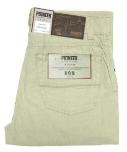 Pioneer-Ron-W-33-L-30-Herren-Sommer-Stoffhose-Beige-1944-3588-25-1-Wahl