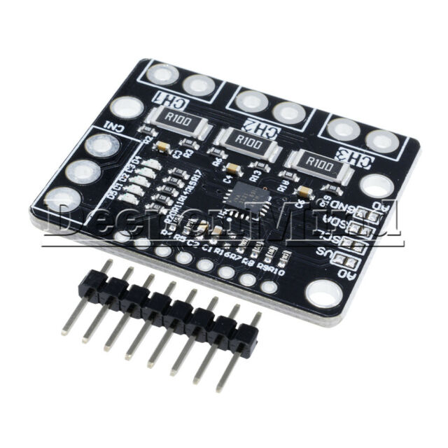 I2C INA3221 3 Channel Shunt Current Voltage Monitor Power Supply Replace INA219