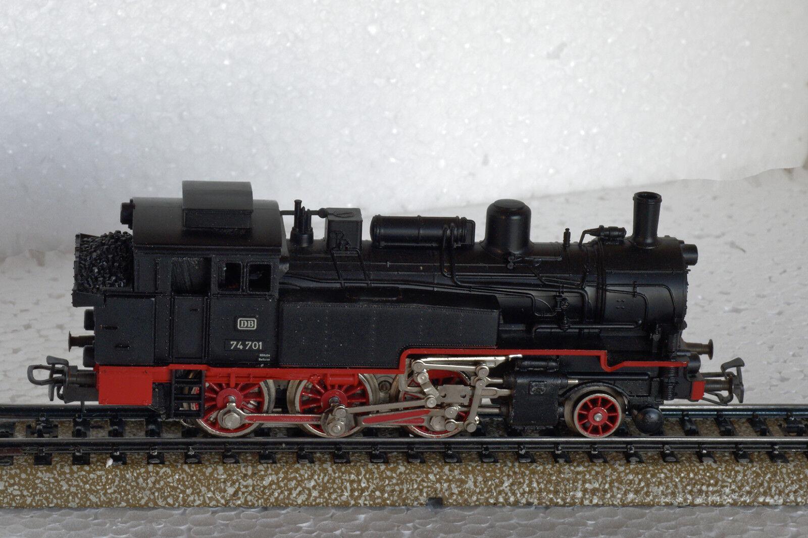 LOT 008 - MARKLIN MARKLIN MARKLIN HO - locomotive vapeur type 130 - BR 74 - réf 3095 8b1847