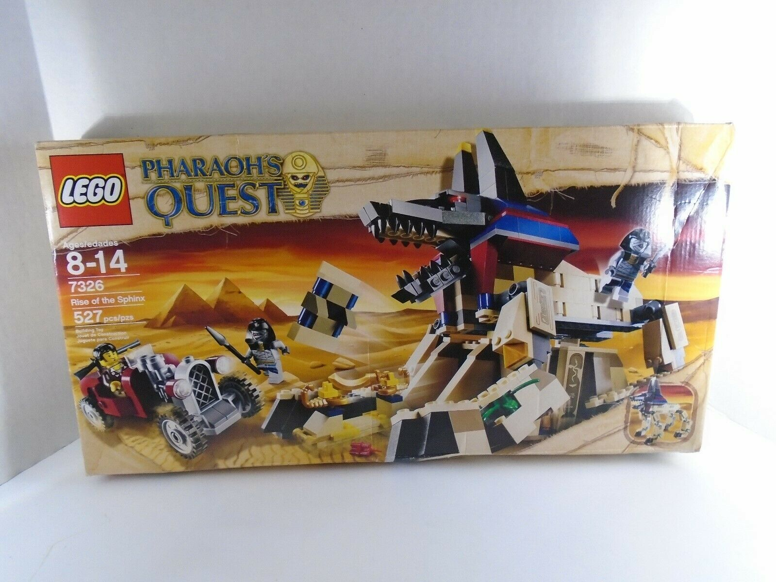 2011 LEGO  PHAROAH'S QUEST--RISE OF THE SPHINX SET (nuovo) 7326  per poco costoso