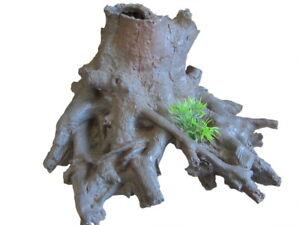 Resin-Root-Hide-26cm-fish-tank-log-aquarium-ornament-reptile-snake-enclosure