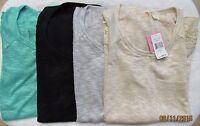 Chenault Clothing Lace Trim Top (assorted Colors) Women's Sz S-xxl Msrp$68