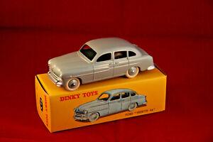 1 fiche certif DINKY TOYS ATLAS repro ref 24 X Ford vedette 1953