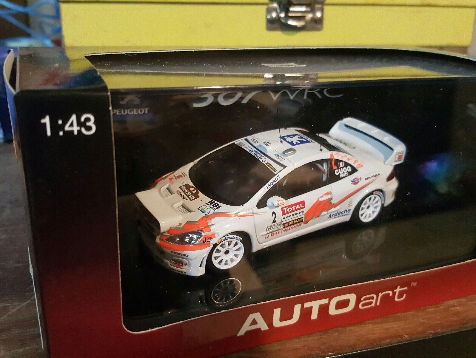 entrega de rayos Autoart Transkit Transkit Transkit 1 43 Peugeot 307 WRC  Ahorre hasta un 70% de descuento.