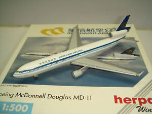 503464-1:500 Herpa Wings md-11 Mandarin Airlines