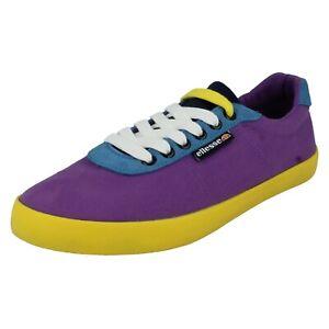 Unisexe Ellesse Smart Canvas Pompe Dessus Lacet Rond Décontracté Shoes Portofino