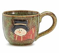 Large Snowman 30 Oz Christmas Soup Mug/bowl For Holiday Dining, New, Free Shippi