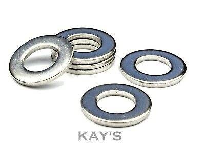 M4 A2 Stainless Steel Flat Washers 100 Pack Free P/&P