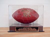 Display Case For Your Joe Namath York Jets Signed Football