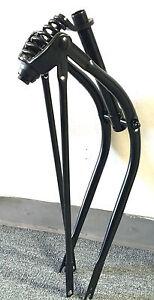 """FORK  BIKE BLACK   SPRINGER STEEL   26 /"""" CRUISER  NEW"""