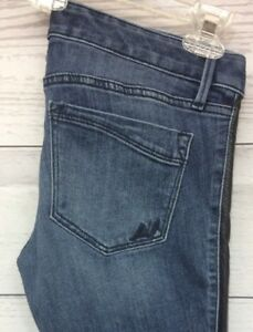 Express-Jeans-Size-4R-Ankle-Legging-Stella-Low-Rise-Pleather-Down-Sides