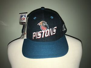 ae1c43c24ccecf Image is loading Vintage-Detroit-Pistons-Logo-Athletic-Hat
